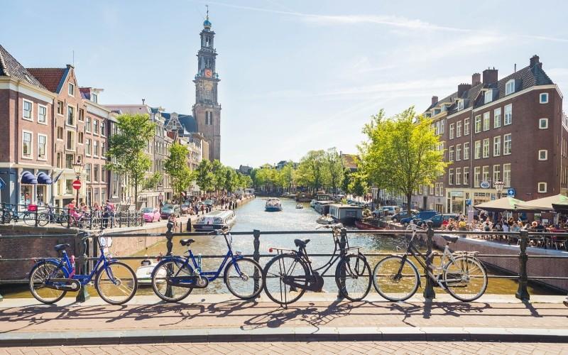 Bike-friendly cities: Amsterdam