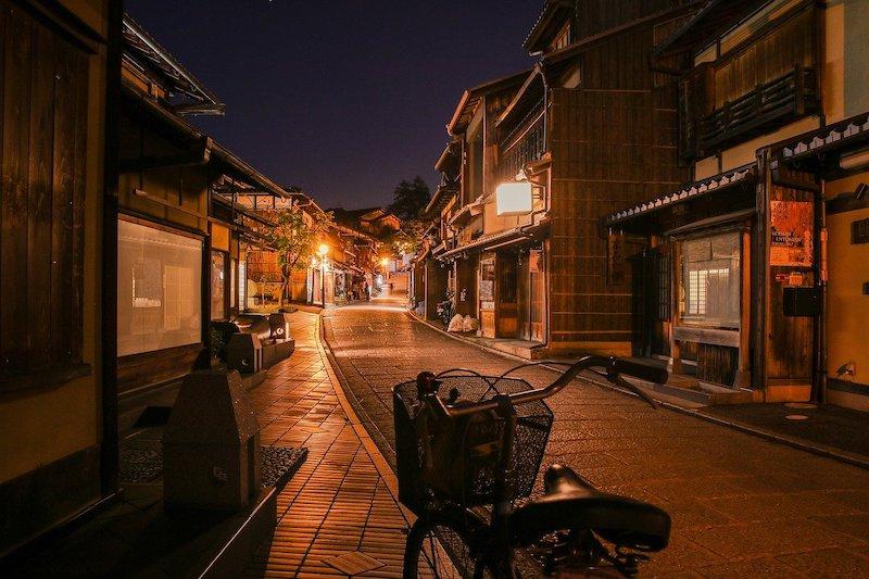 Bike-friendly cities: Kyoto