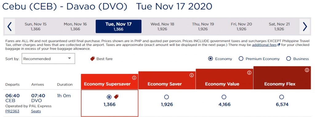 PAL Seat Sale for Philippine Destinations Offers Flights from ₱688