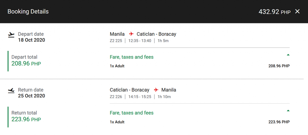 New Boracay Seat Sale 2020 Starts at ₱8 With AirAsia