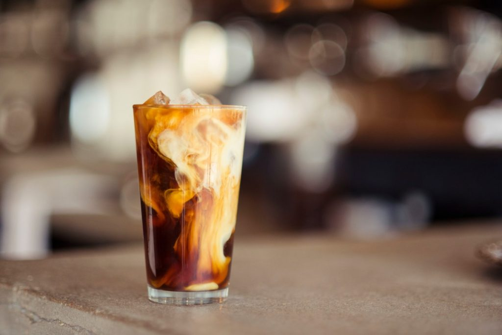 coffee recipes: vanilla sweet cream cold brew