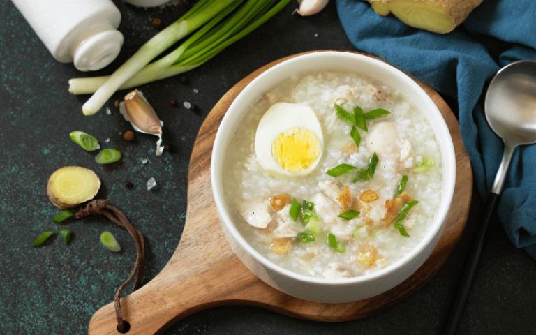 arroz caldo pinoy breakfast