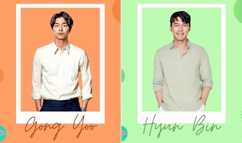 Oppa Planner 2021: Gong Yoo and Hyun Bin