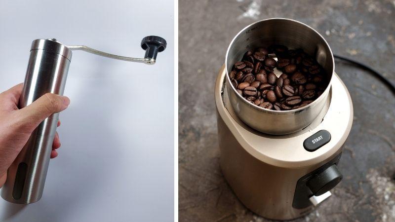 coffee essentials: coffee grinder