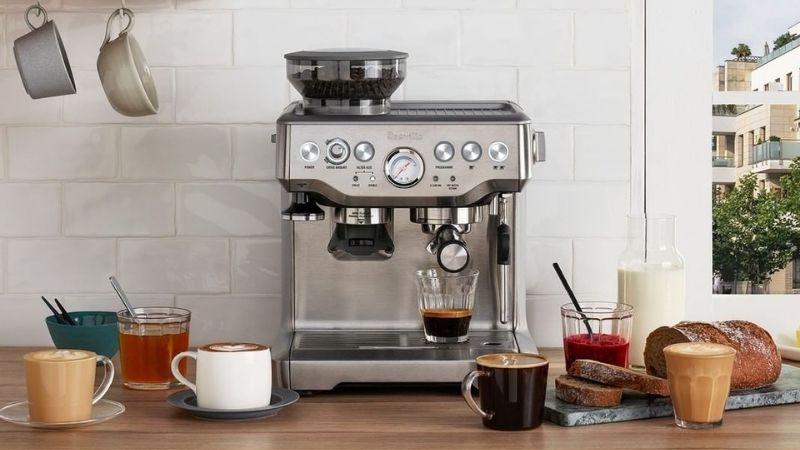 coffee essentials: espresso machine