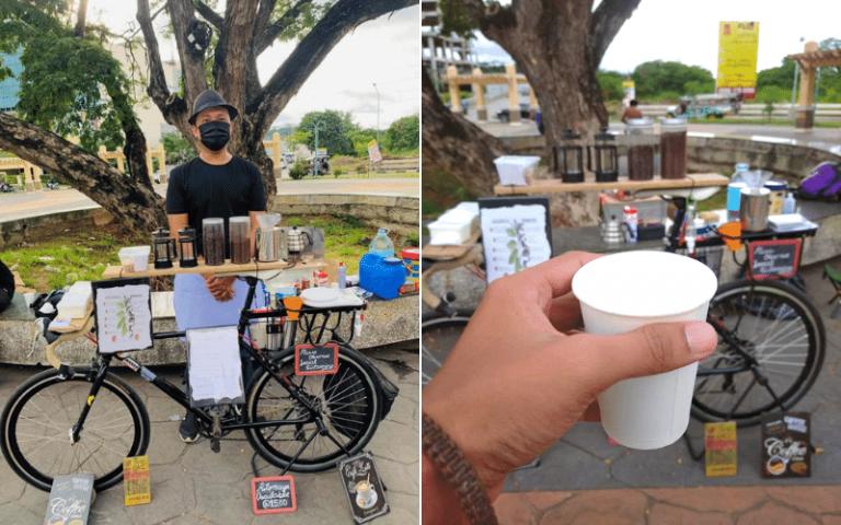 bike coffee in Cagayan de Oro