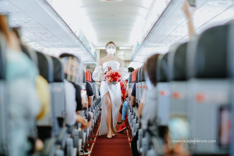 flight attendants wedding 1
