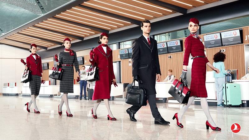 fashionable flight attendants