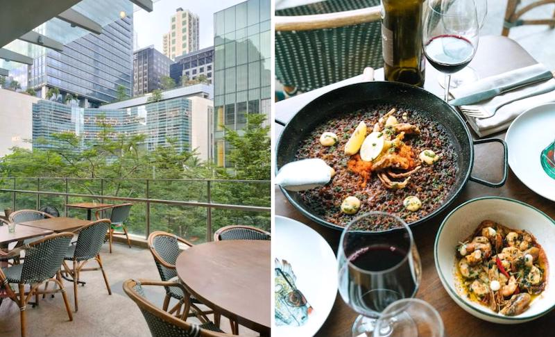outdoor dining manila