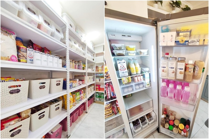 Pantry Design That Looks Like a Grocery? Pinay Mom Nails It