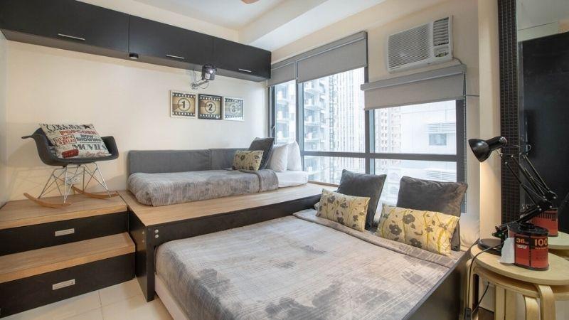 studio apartment in bgc