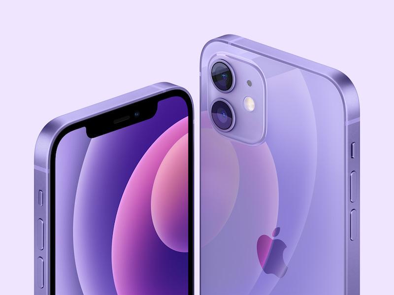 purple iphone