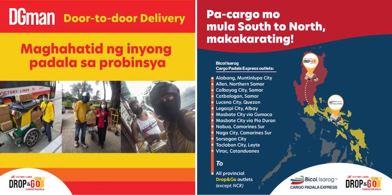 luzon to visayas delivery