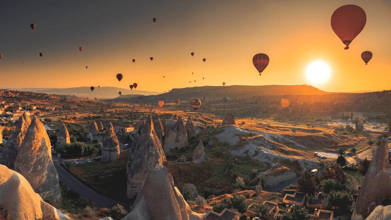 fairy tale destinations: cappadocia