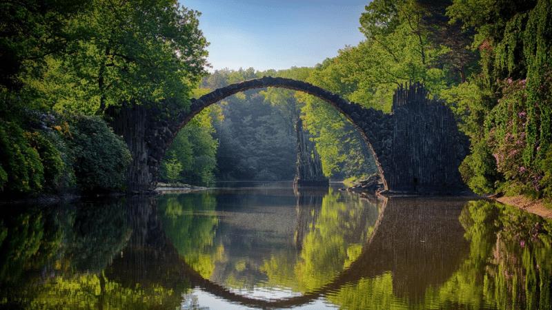 fairy tale destinations: Rakotzbrücke