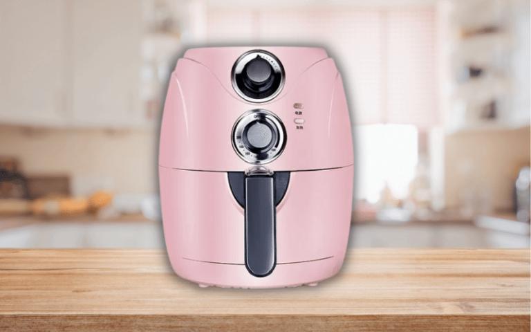 Pastel kitchen appliances air fryer