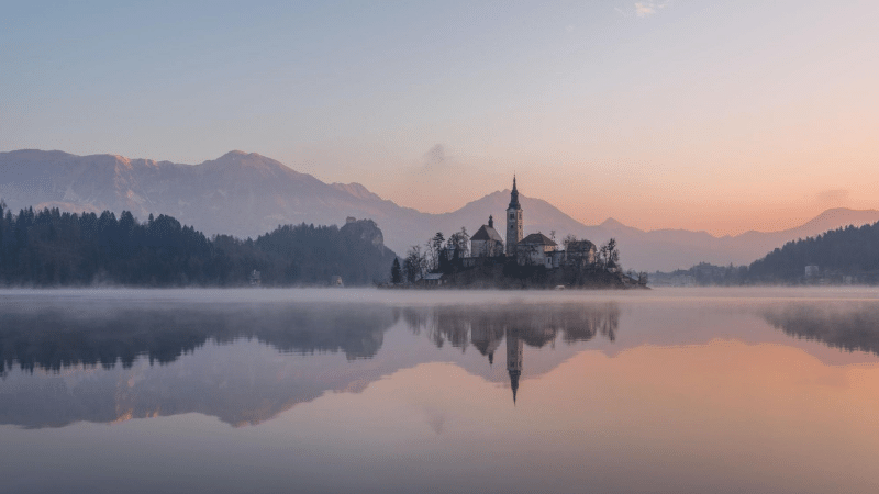 fairy tale destinations: lake bled, slovenia