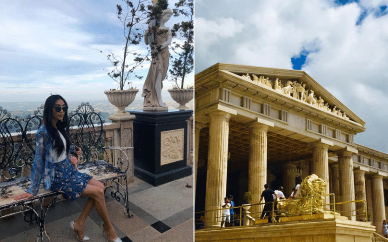 pictures of beautiful places in the philippines temple of leah
