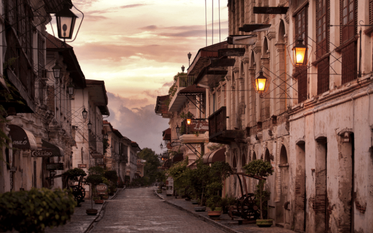 vacation spots in the philippines vigan