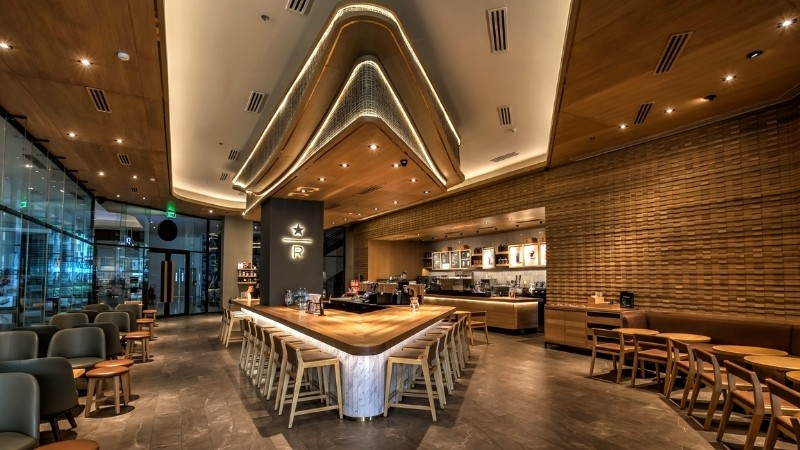 Prettiest Starbucks in the Philippines: Ayala Malls Manila Bay