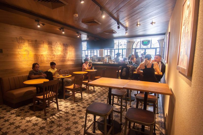 Prettiest Starbucks in the Philippines: Intramuros