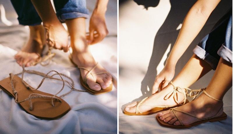 local sandals
