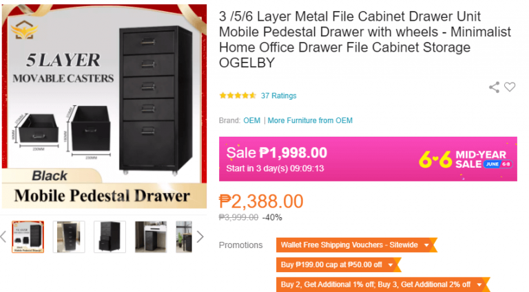 Fathers Day Gift Ideas filing cabinet