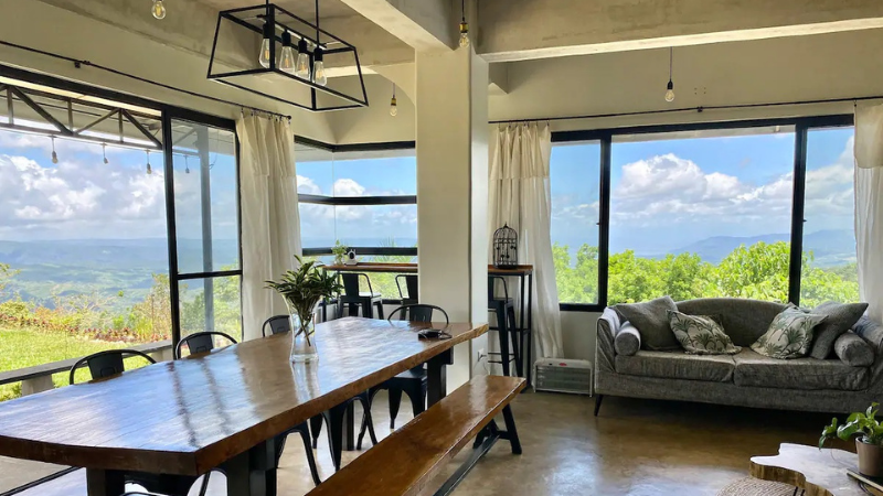 airbnb tanay with a view