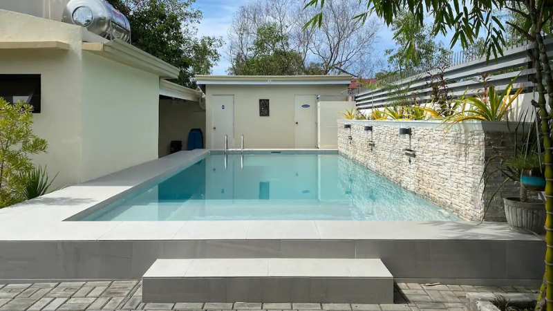 airbnb la union with pool