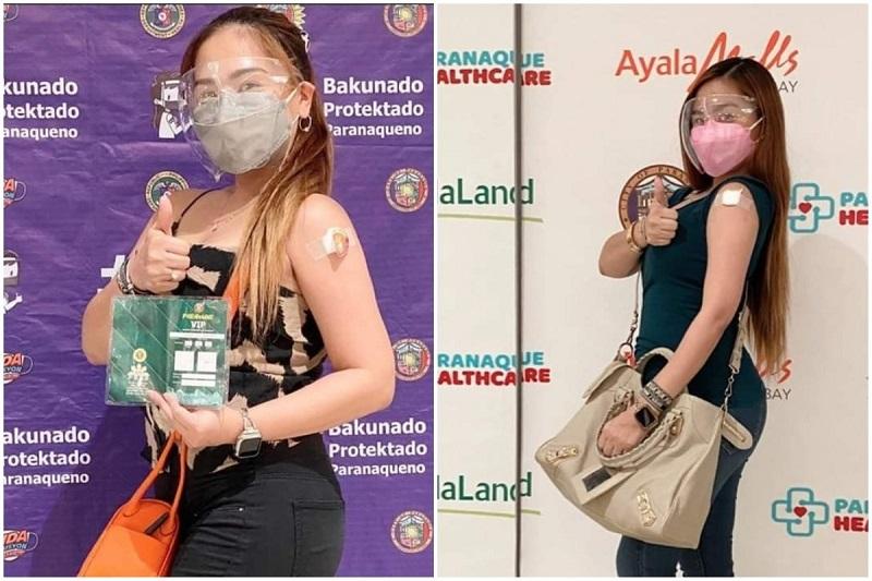 Vaccinated Filipino