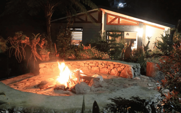 where to stay in baguio cabin campfire