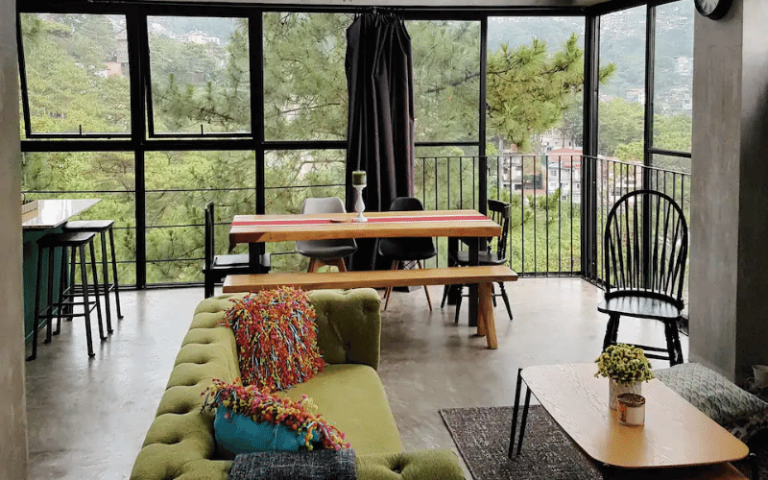 baguio airbnb glasshouse
