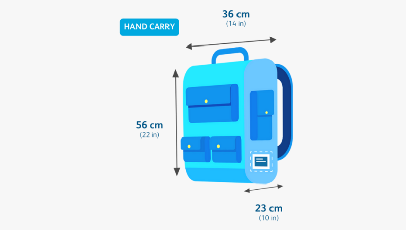 Cebu Pacific Carry-On Dimensions