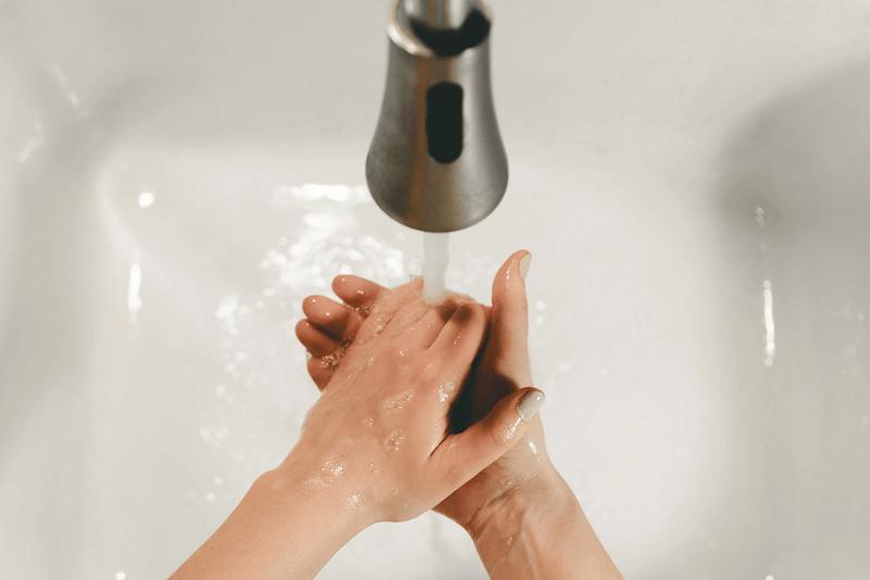 Person Handwashing