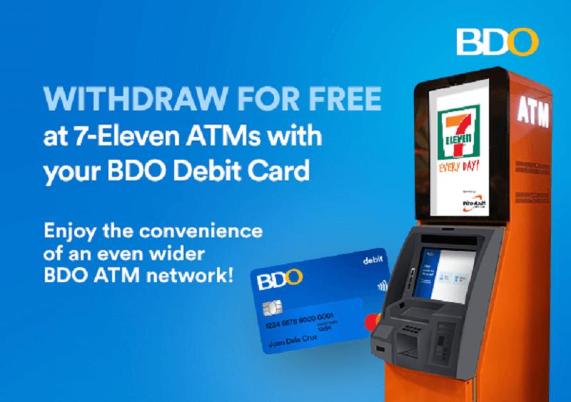 BDO Free Withdrawal