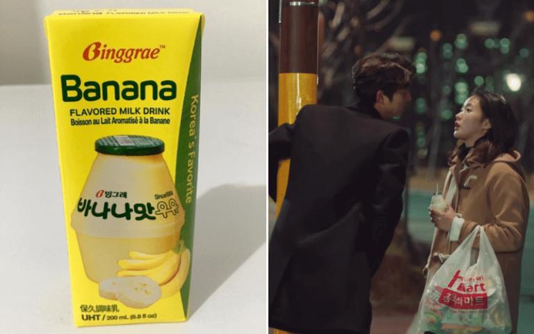 k-drama-snacks banana milk