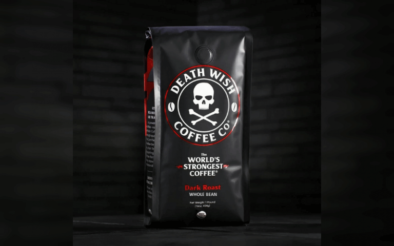 death wish coffee grounds package