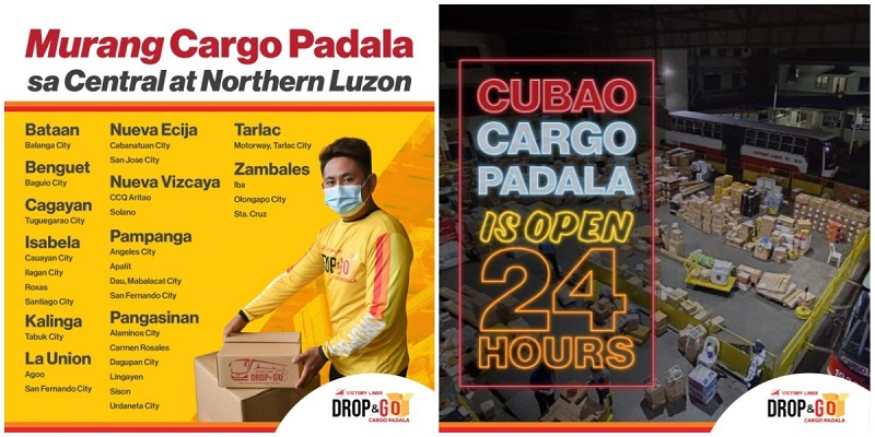 Cargo Delivery From Luzon