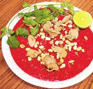 món ăn Việt Nam - tiết canh