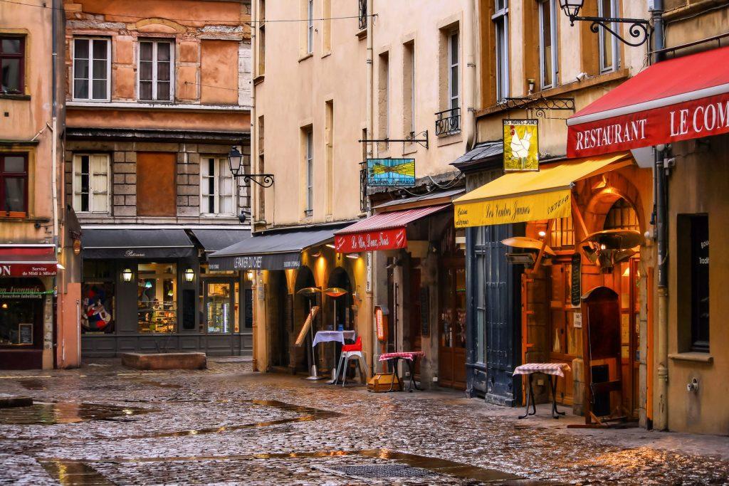 Phố cổ Vieux Lyon