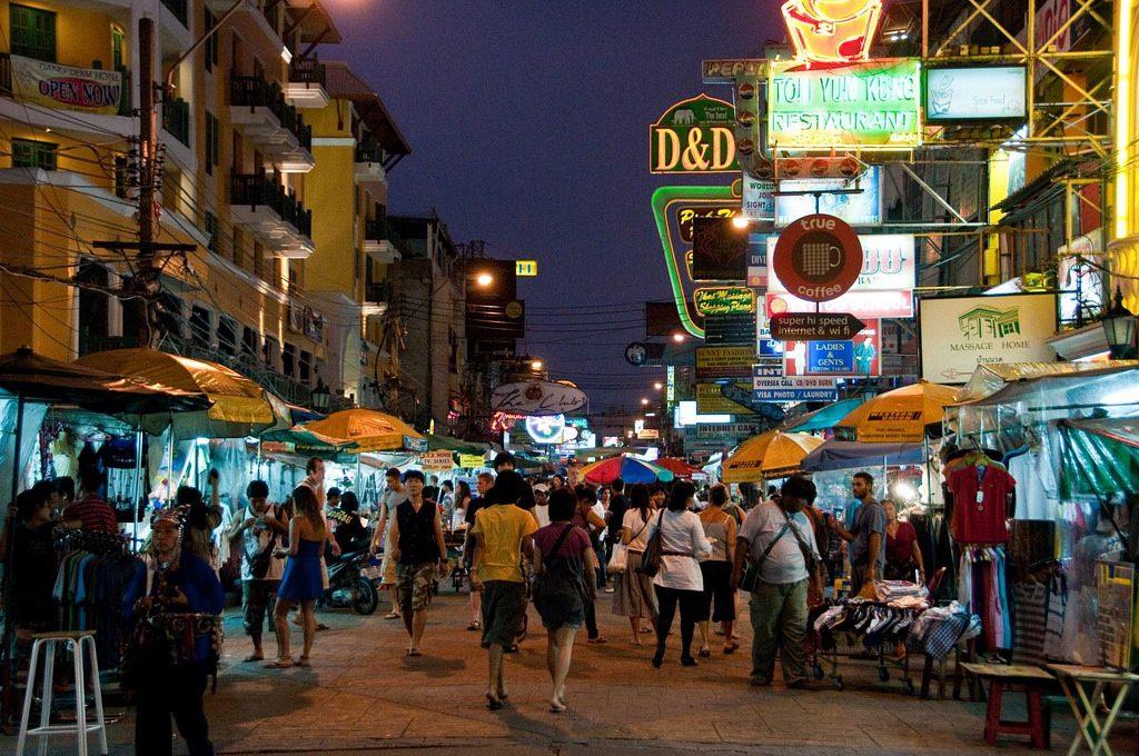 Chợ đêm Khao San Road