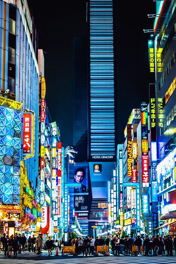 Nhật Bản là nơi tập trung cuộc sống đô thị sầm uất