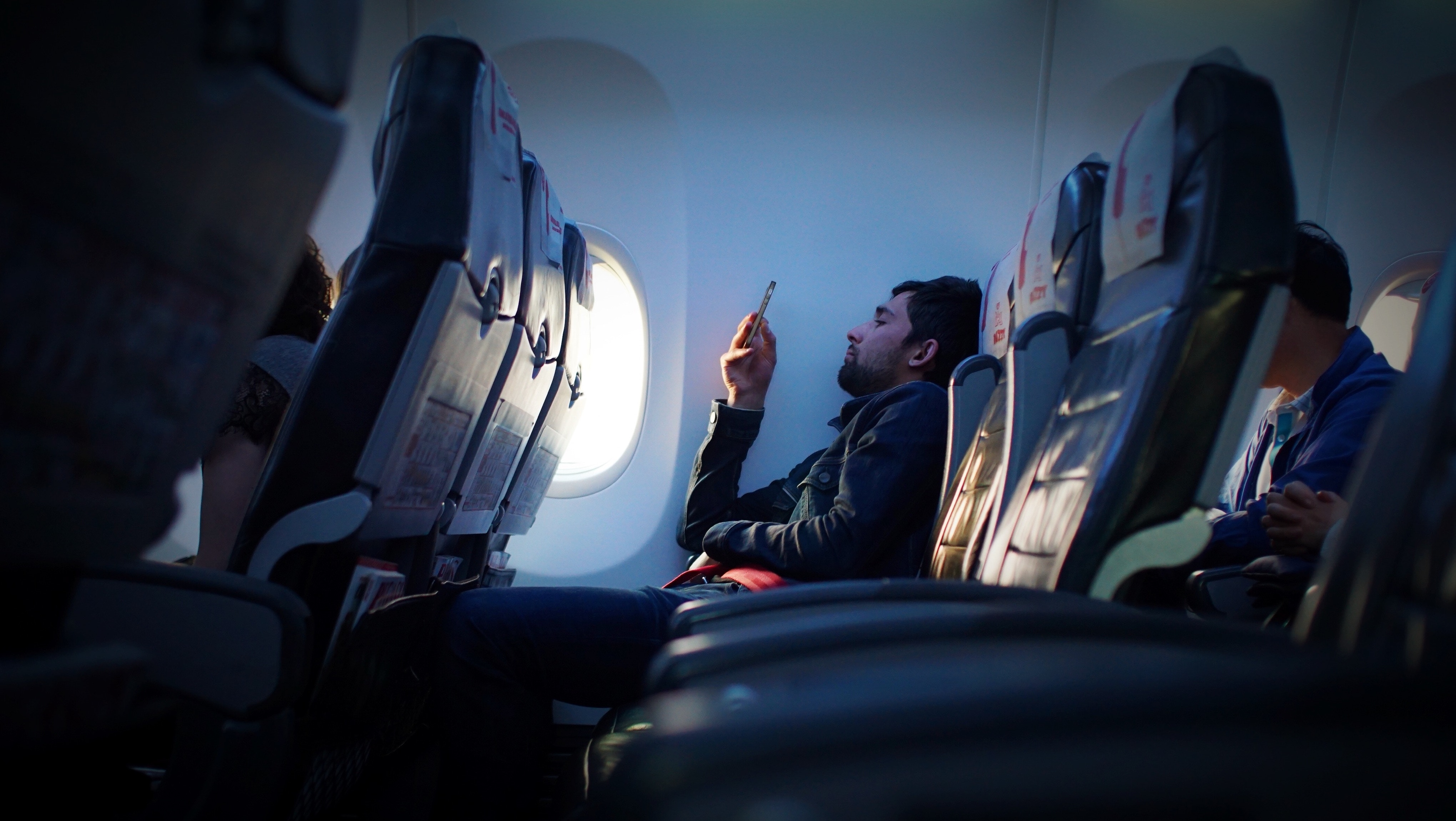 ghét trên máy bay