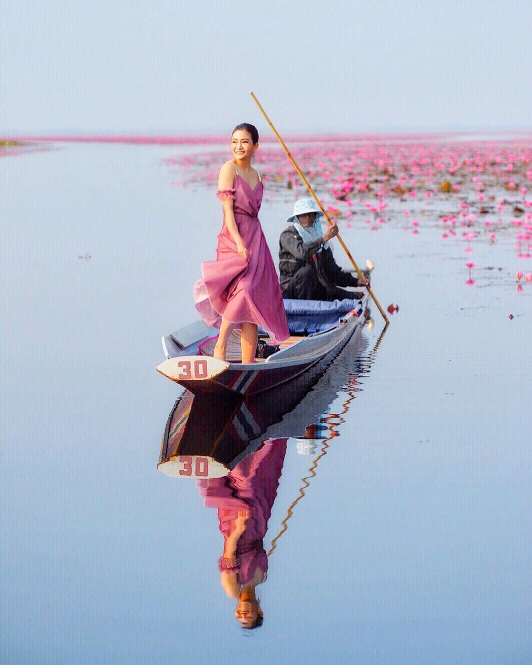 Biển Sen Đỏ Thái Lan ở đâu?
