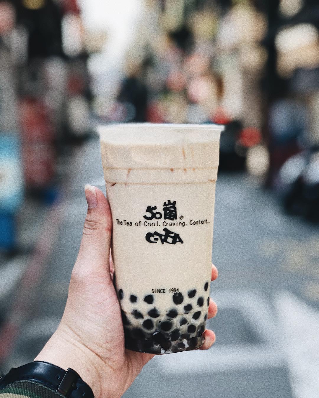 món ăn vặt Đài Loan, Boba nai cha (trà sữa trân châu)