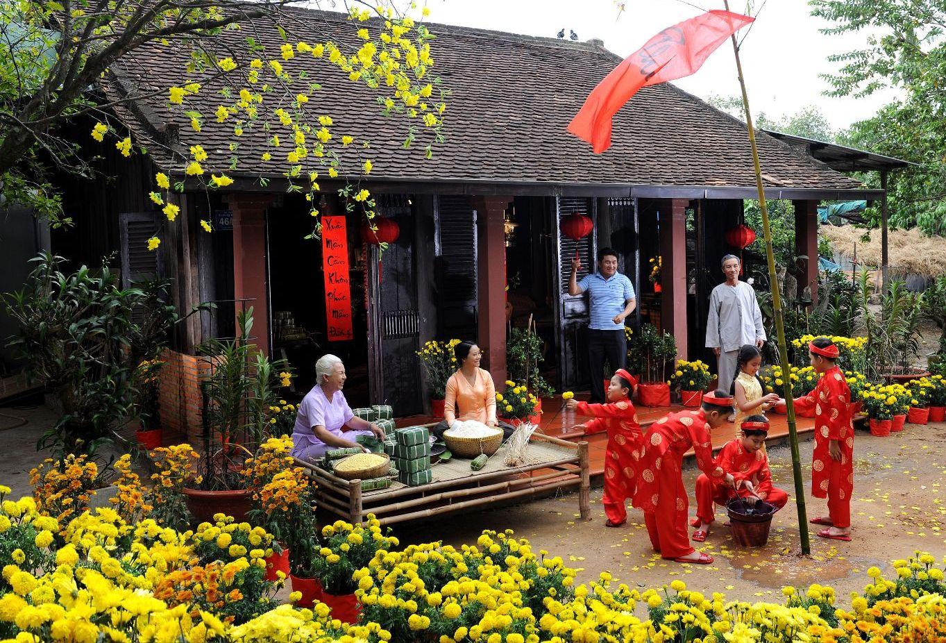 Người Việt Nhớ Khi Xa Nhà, nhớ mùi tết quê hương