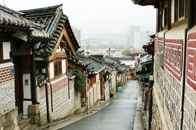 ngôi làng cổ Bukcheon Hanok