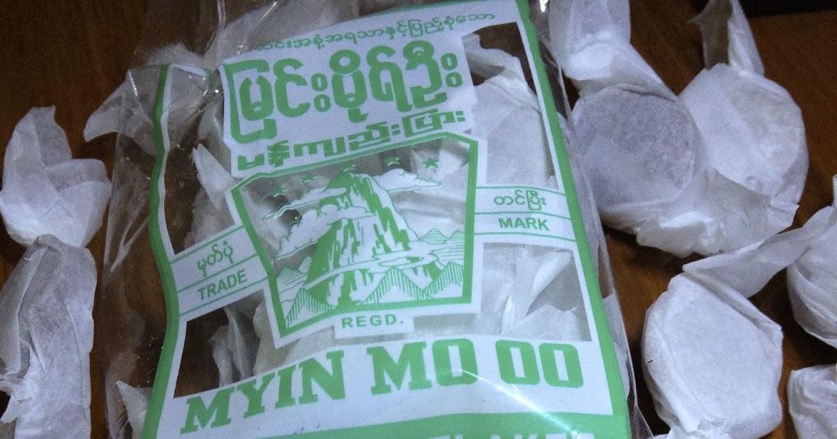kẹo me myin mo oo Mua khi du lịch Bagan