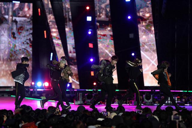 concert của các oppa xứ Hàn