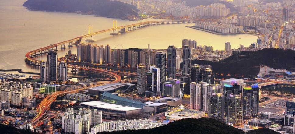 Du lịch Busan - cảnh thành phố